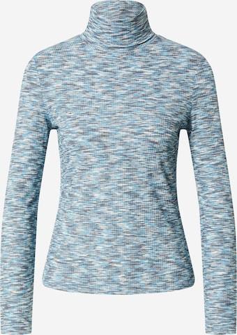 EDITED Shirt 'Alicia' - Modrá