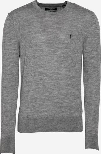 AllSaints Pull-over en gris chiné, Vue avec produit