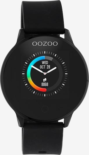 OOZOO Digitaluhr in schwarz: Frontalansicht