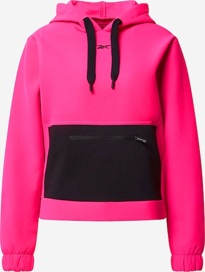 REEBOK Sports sweatshirt in pink / black, Item view