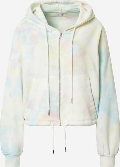 SISTERS POINT Sweatjacke  'PEZA' in beige / mischfarben, Produktansicht