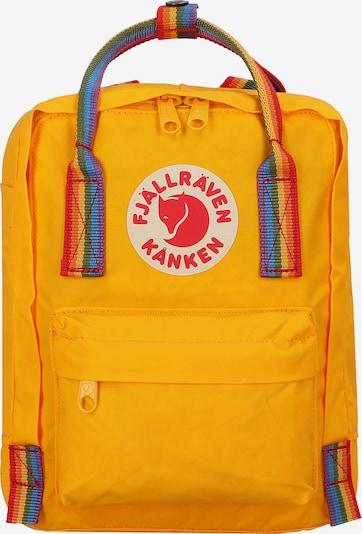 Fjällräven Rucksack 'Kanken City' in gelb / mischfarben, Produktansicht