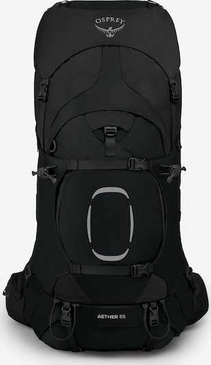 Osprey Sportrugzak 'Aether' in de kleur Zwart, Productweergave