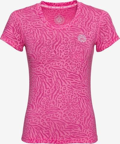 BIDI BADU T-Shirt 'Anni Burnout Tech' in pink, Produktansicht