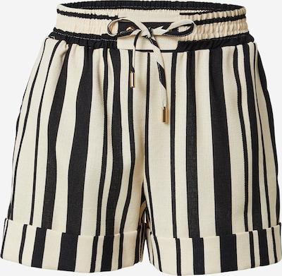 River Island Shorts in schwarz / naturweiß, Produktansicht