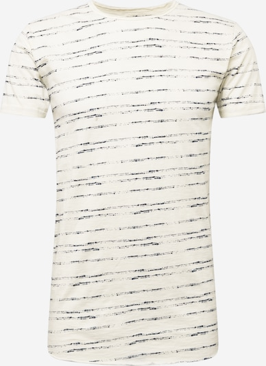 INDICODE JEANS Shirt 'Cordova' in navy / weiß, Produktansicht