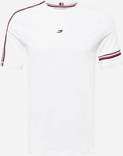 Tommy Sport T-Shirt fonctionnel 'TAPE SEASONAL T-SHIRT' en blanc, Vue avec produit