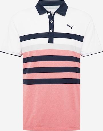 T-Shirt fonctionnel 'One Way' PUMA en rouge