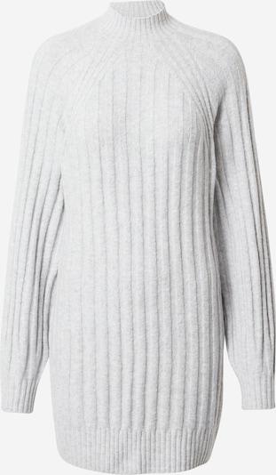 HOLLISTER Stickad klänning i ljusgrå, Produktvy