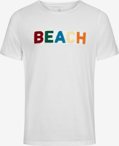 COLOURS & SONS T-Shirt Beach BUCKY in weiß: Frontalansicht