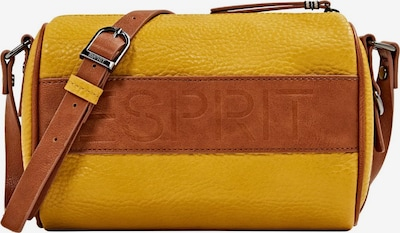 ESPRIT Schoudertas 'Minnesota' in de kleur Bruin / Geel, Productweergave