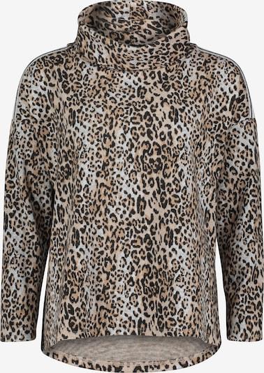 Betty Barclay Sweatshirt mit Animalprint in camel / grau, Produktansicht