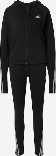 ADIDAS PERFORMANCE Trainingspak '3-Streifen' in de kleur Zwart / Wit, Productweergave