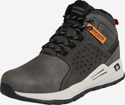 Dockers by Gerli Sneakers laag '45AV105-640' in de kleur Donkergrijs, Productweergave