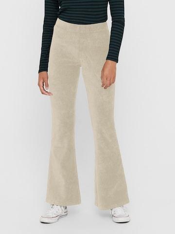 ONLY Pants 'ONLFENJA' in Beige