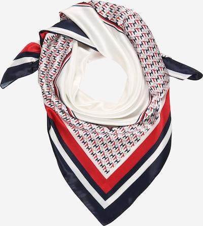 TOMMY HILFIGER Zaščitna maska | kremna / temno modra / svetlo siva / rdeča barva, Prikaz izdelka