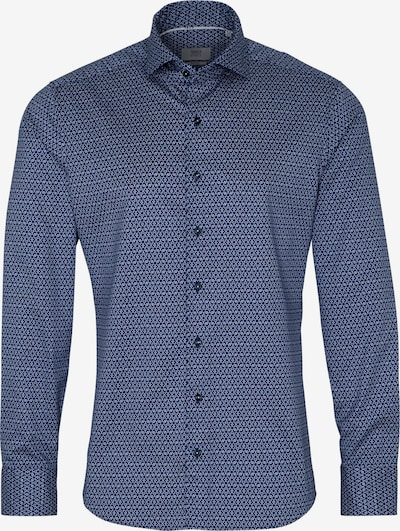 ETERNA Langarm Hemd 'SLIM FIT' in blau / naturweiß, Produktansicht