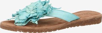 LAZAMANI Sandale in Blau