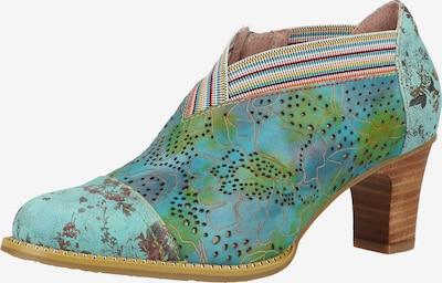 Laura Vita Pumps met hoge voorkant in de kleur Blauw / Gemengde kleuren, Productweergave