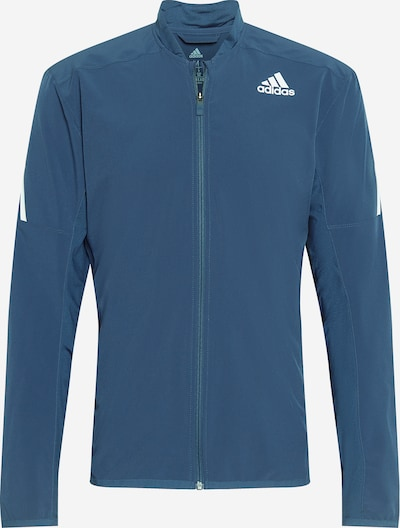 Giacca sportiva 'AERO' ADIDAS PERFORMANCE di colore blu scuro / bianco, Visualizzazione prodotti