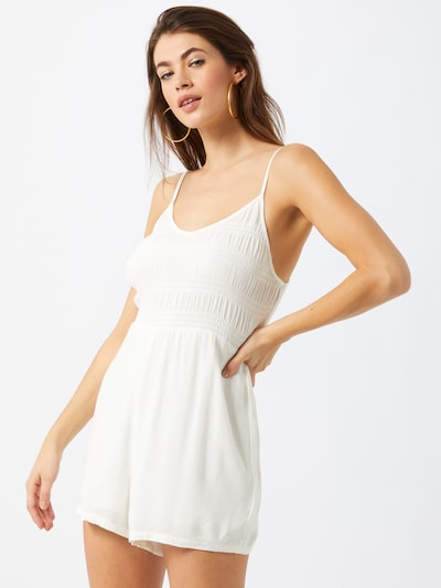 Cotton On Overall 'Penelope' in weiß, Modelansicht