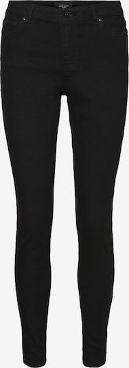 Vero Moda Curve Jeggings 'VMJUDY MR SLIM JEGGING VI133 CURVE' in de kleur Zwart, Productweergave