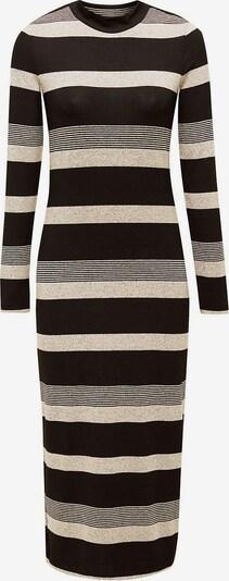 ESPRIT Kleid in beigemeliert / schwarz, Produktansicht