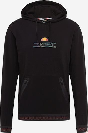 ELLESSE Sportsweatshirt 'Point' in de kleur Gemengde kleuren / Zwart, Productweergave