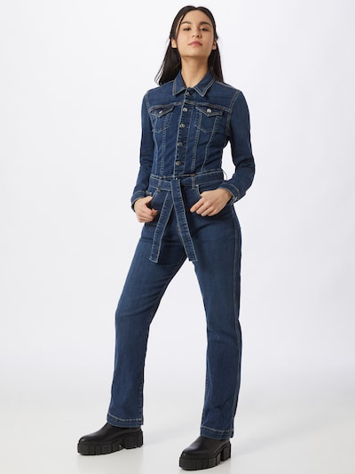Pepe Jeans Jumpsuit  'Carrie' in dunkelblau, Modelansicht