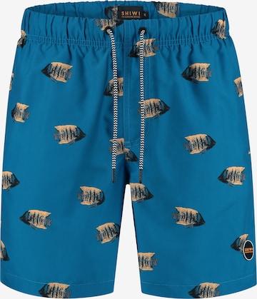 Shorts de bain 'moonfish' Shiwi en bleu