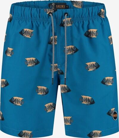 Shiwi Badeshorts 'moonfish' in blau, Produktansicht