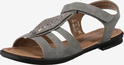 RICOSTA Sandale in grau / silber, Produktansicht