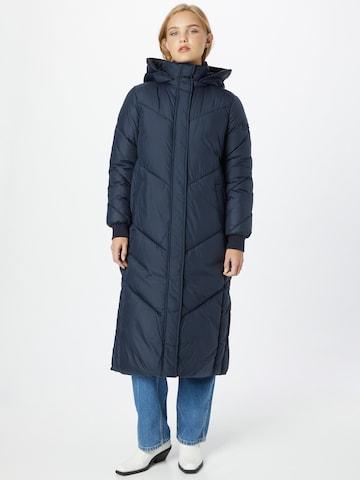 TOM TAILOR DENIM Winter Coat in Blue