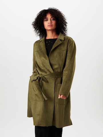 MY TRUE ME Between-Seasons Coat in Green