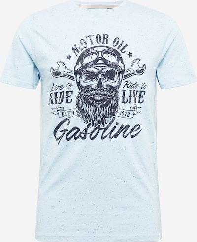 BRAVE SOUL T-Shirt 'MAGNETO' en bleu marine / bleu clair, Vue avec produit