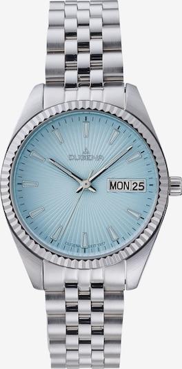 DUGENA Uhr in hellblau / silber, Produktansicht