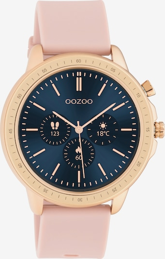 OOZOO Uhr in gold / rosa, Produktansicht