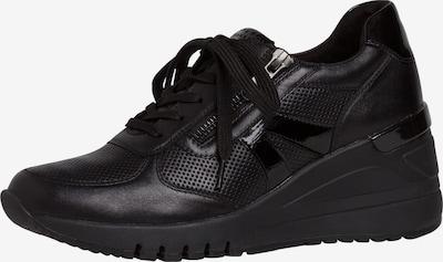 MARCO TOZZI Sneaker in schwarz: Frontalansicht