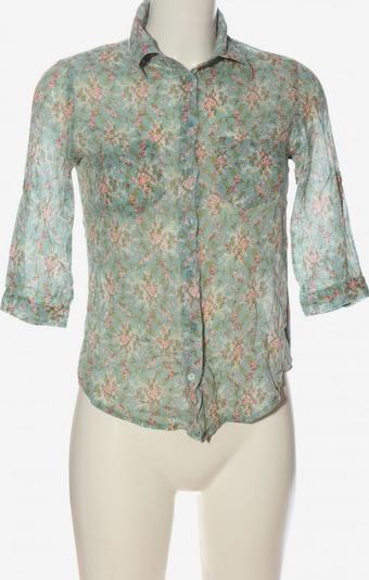 Danity Hemd-Bluse in S in blau / grün / weiß, Produktansicht