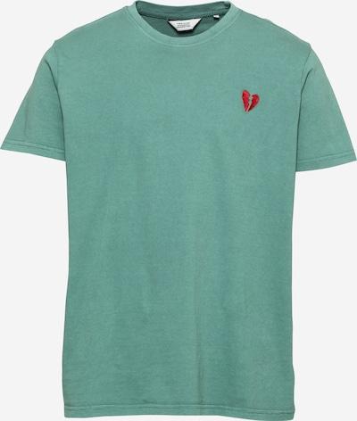 Tricou 'Reko' !Solid pe verde, Vizualizare produs