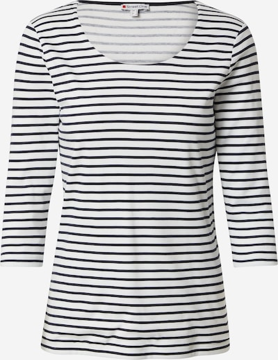 STREET ONE Shirt 'Hanya' in de kleur Zwart / Wit, Productweergave