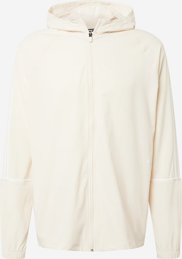 ADIDAS PERFORMANCE Trainingsjacke in beige / weiß, Produktansicht