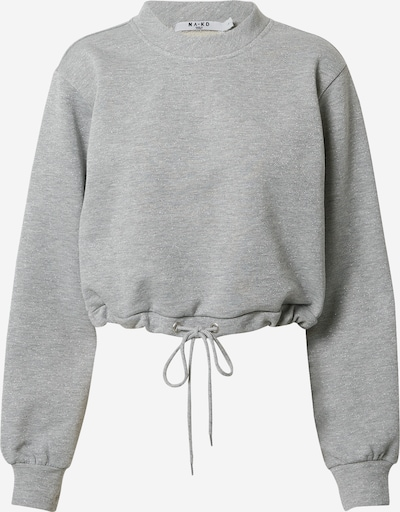 Felpa NA-KD di colore grigio / argento, Visualizzazione prodotti
