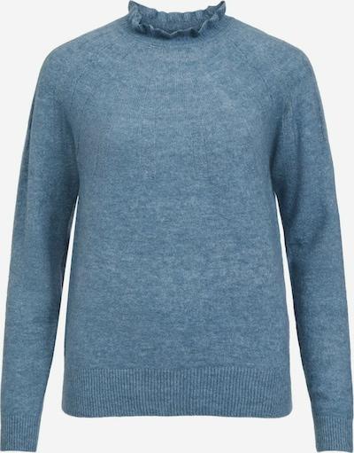 VILA Strickpullover in blau, Produktansicht
