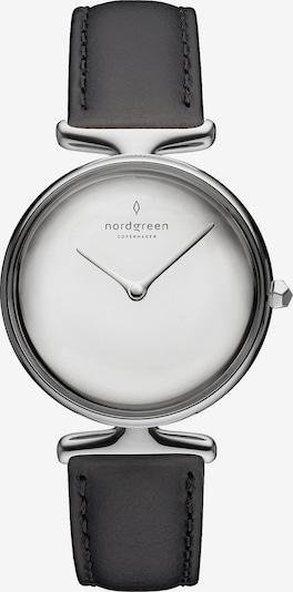 Nordgreen Uhr in schwarz / silber / weiß, Produktansicht