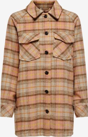 ONLY Jacke in braun / gelb / pink / schwarz, Produktansicht