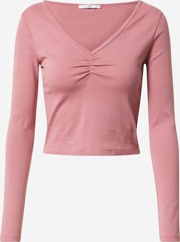 Hailys Μπλουζάκι 'Jette' σε ροζ