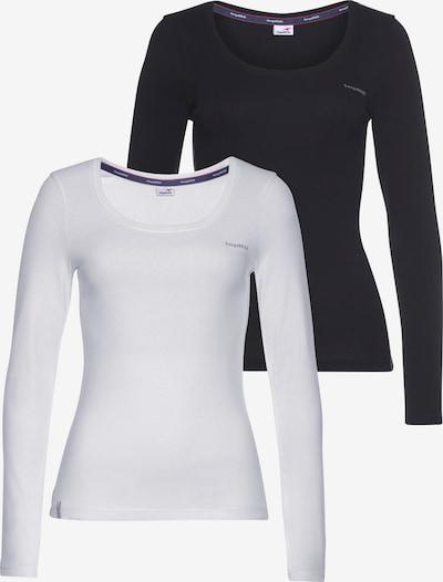 KangaROOS Shirt in Grey / Black / White, Item view