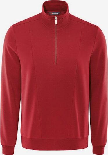 SCHNEIDER Sweatshirt in blutrot, Produktansicht
