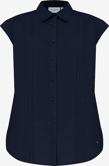 Finn Flare Bluse in blau, Produktansicht